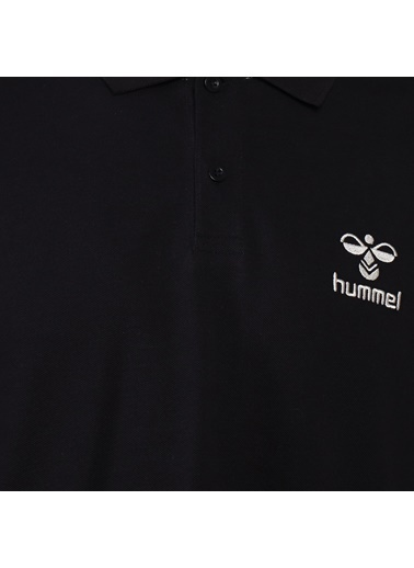 Hummel Erkek Polo Yaka Tişört Leon 911280-2001 Siyah
